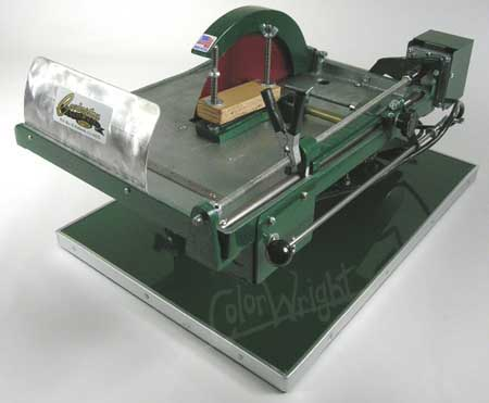 Ten Inch Slab Trim Saws Raytech Al P10s Hi Tech 10 Diamond Pacific 10ts B Covington Model 1510
